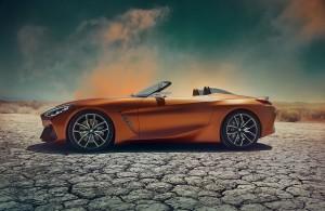 BMW Z4 Concept รถแนวคิดของว่าที่โรดสเตอร์รุ่นใหม่จากค่ายใบพัดเครื่องบินสีฟ้าขาว !!