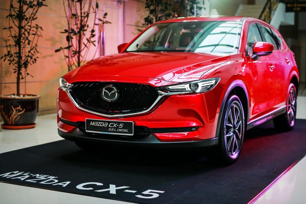 มาชม All-New Mazda CX-5 ก่อนเข้าไทย เดือน พย. นี้