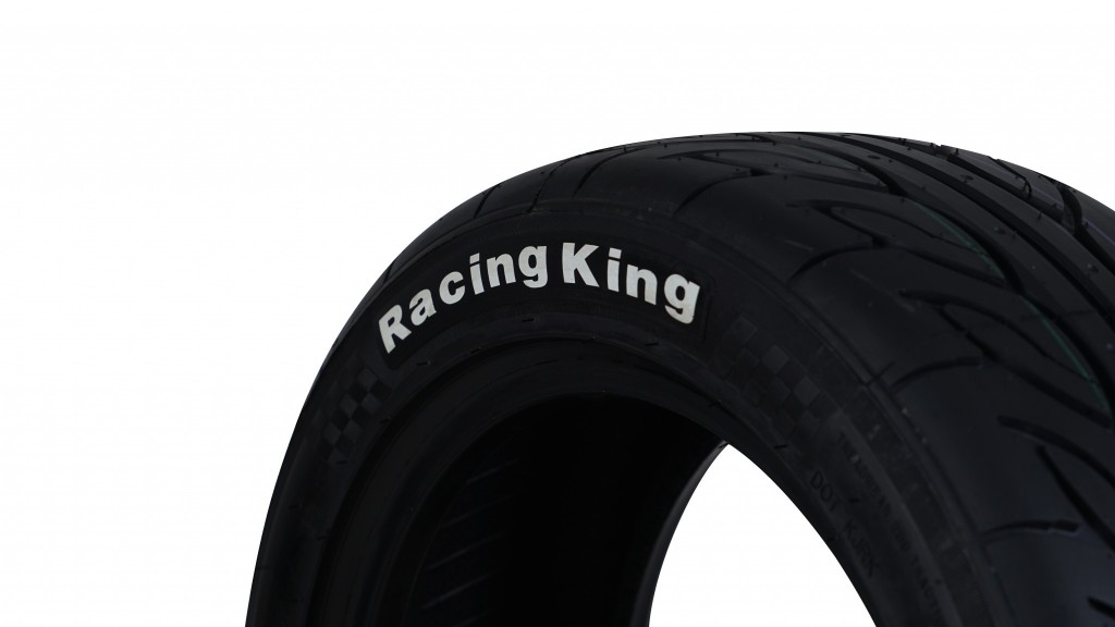 """เคซี ออโต้โมทีฟฯ แนะนำยาง Tri-Ace รุ่น """"Racing King"""""""