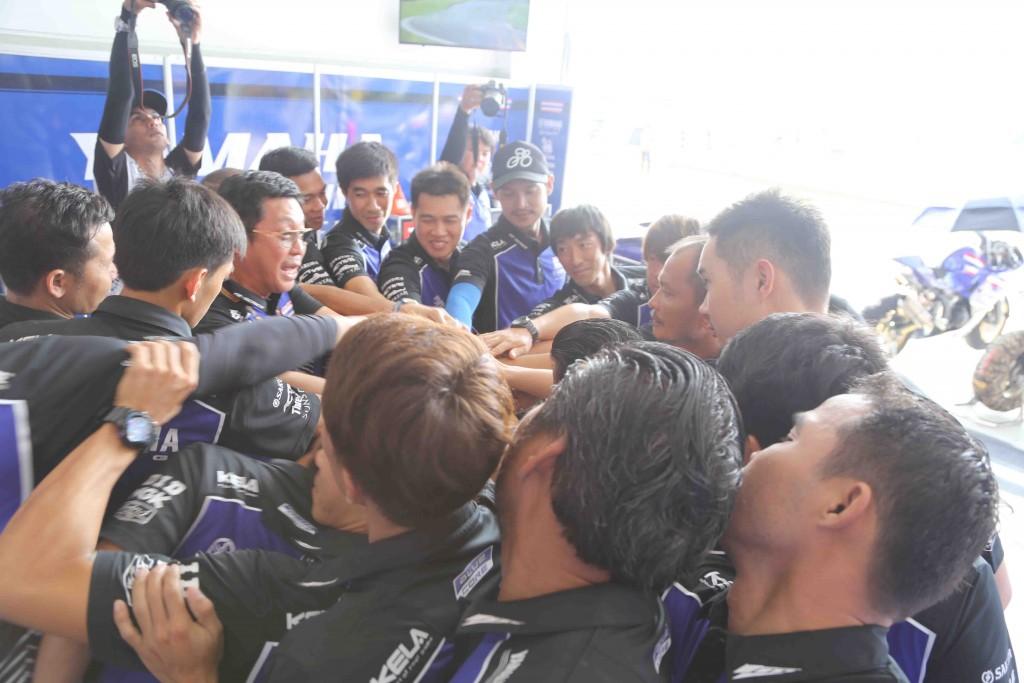 08 ทัพนักบิดไทยยามาฮ่าผงาดยืนโพเดี้ยม ศึกชิงแชมป์เอเชีย สนาม 5
