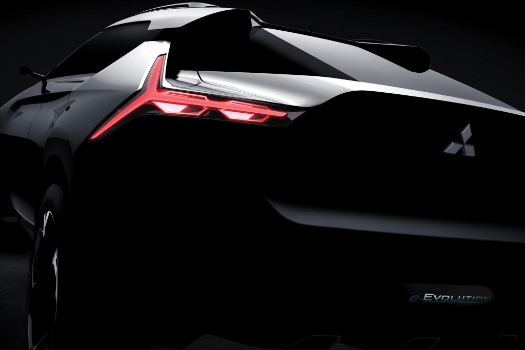 Mitsubishi e-Evolution รถแนวคิด พลังงานไฟฟ้า ตัวถังครอสส์โอเวอร์ผสมคูเป เตรียมเผยโฉมในงาน Tokyo Motor Show 2017