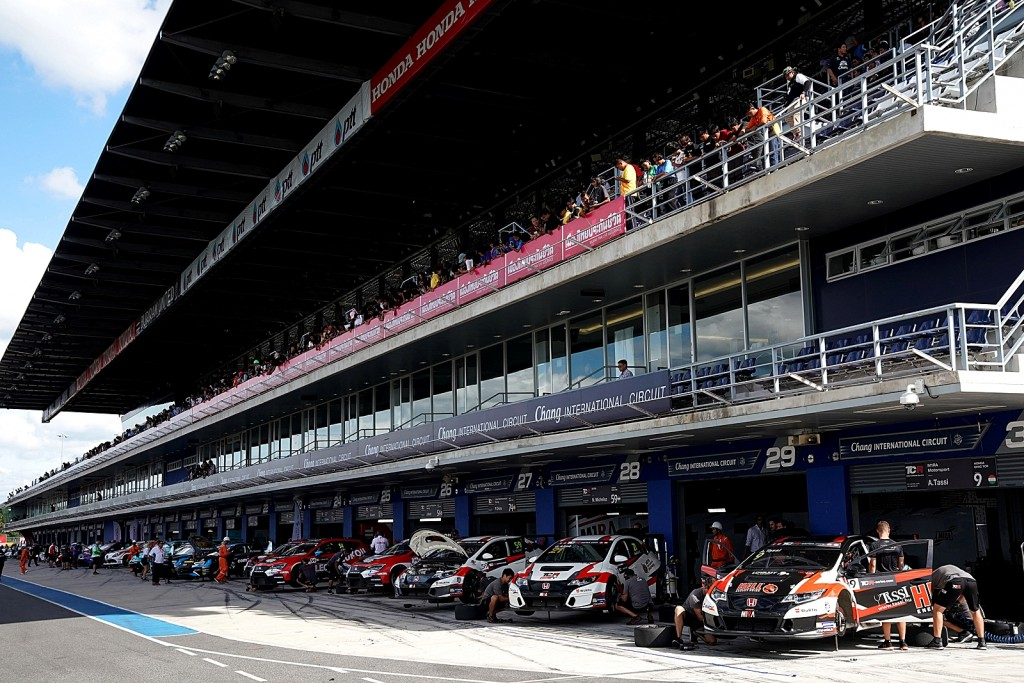 TCR International Series Buriram, Thailand 01 - 03 September 201