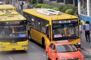 ยกเลิกทดลองรถเมล์สายใหม่ 8 เส้นทาง