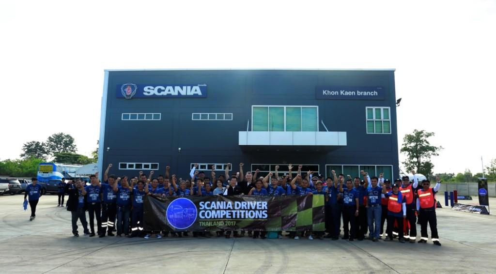 สแกเนีย จัดกิจกรรม สร้างนักขับรถบรรทุกและรถบัส