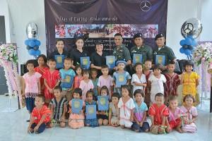 เมอร์เซเดส-เบนซ์ ลีสซิ่ง (ประเทศไทย)ฯ สานต่อโครงการ