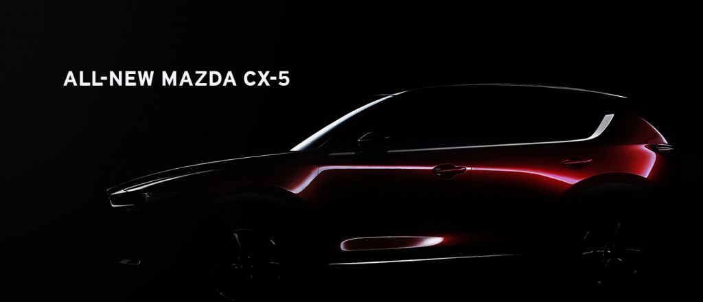 TEASER ALL-NEW MAZDA CX-5