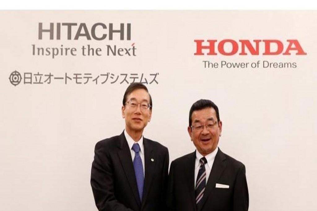 Hitachi จับมือ Honda ผลิตมอเตอร์ไฟฟ้า