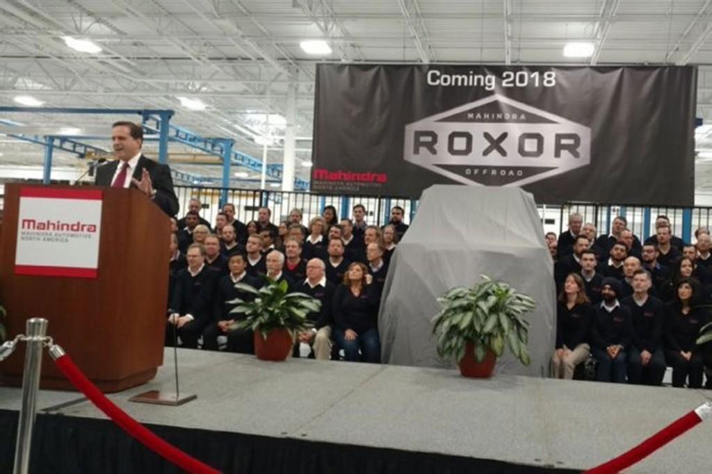Mahindra เปิดโรงงานรถทแรคเตอร์ในสหรัฐอเมริกา