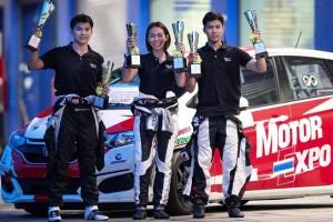 ทีม Motor Expo Racing เข้าเส้นชัย คว้ารางวัลรองชนะเลิศอันดับที่ 1 ของคลาสส์ 1.5-1.6 ลิตร !!ในรายการ RAAT Thailand Endurance Championship International 2017