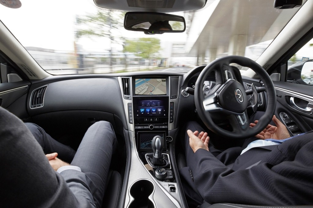 6.Nissan tests fully autonomous prototype technology on streets of Tokyo