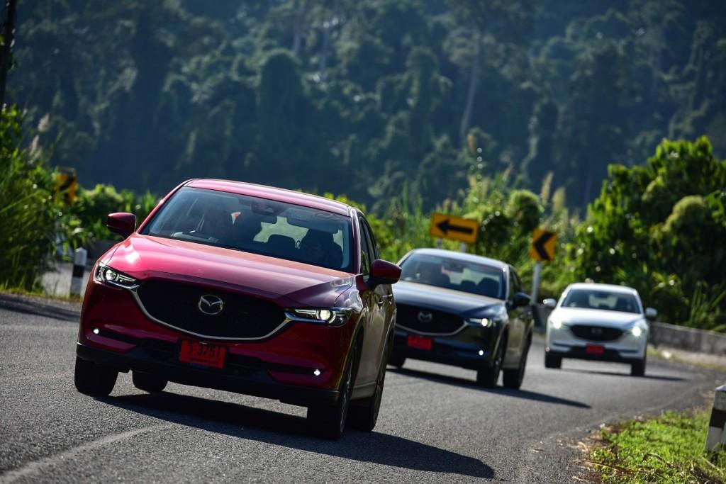 ลองสมรรถนะ Mazda CX-5 ใหม่ เครื่องยนต์เบนซิน และดีเซล จากเหนือสู่อีสาน