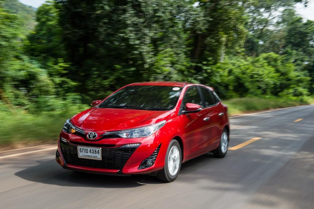 ลอง Toyota Yaris โฉมใหม่ 5 ประตู Hatchback