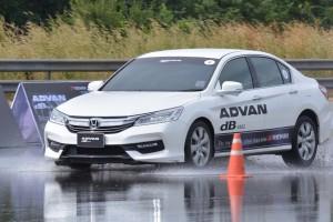 ทดสอบ Yokohama Advan dB V552 ไม่ใช่แค่ยางนุ่มเงียบ แต่ยังหนึบทั้งพื้นแห้งและพื้นเปียก !