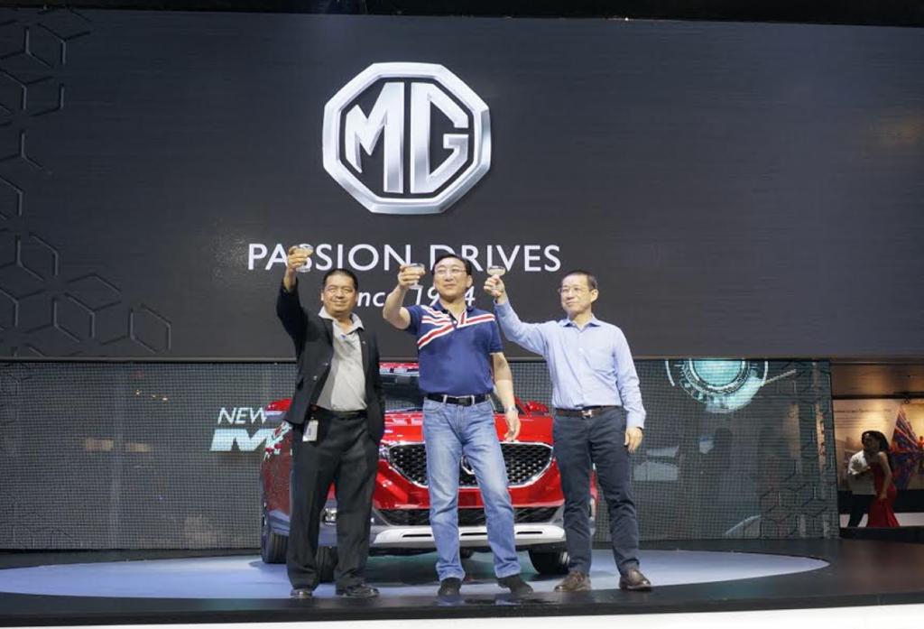เอมจี ยอดจองพุ่งเกิน 2,300 คัน ในงาน Motor Expo 2017