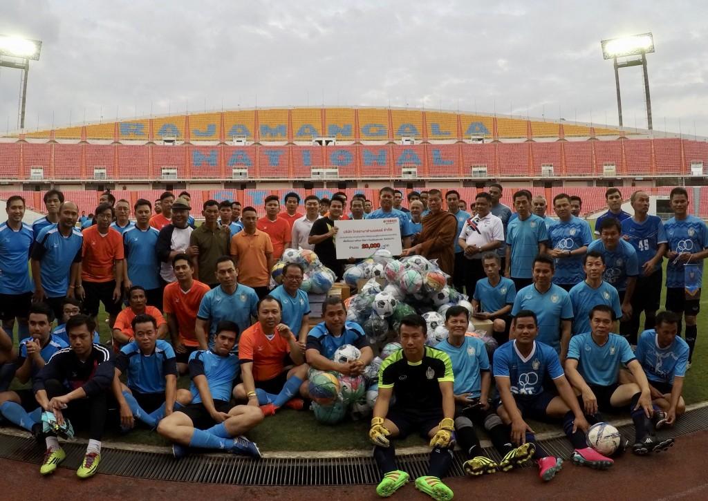 01 ยามาฮ่ามอบเงินสนับสนุนสมาคมผู้สื่อข่าวกีฬาแห่งประเทศไทย
