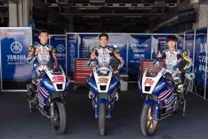 นักบิดดาวรุ่งทีม Yamaha Thailand Racing Team คว้าโพลโพซิชัน สนามโฮมเรศ