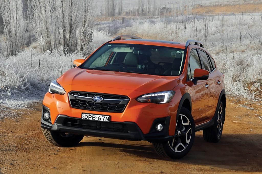 2018 Subaru XV 2.0i-S Orange Front End –Chasing Cars
