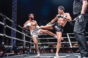 THAI FIGHT 2017 โชว์แม่ไม้มวยไทย กลางเมืองเชียงใหม่