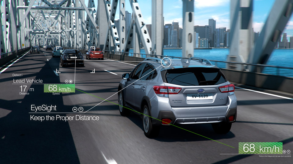 EyeSight - Adaptive Cruise Control