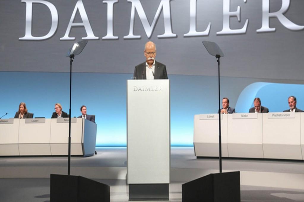 Daimler กำไรเพิ่ม 14 %