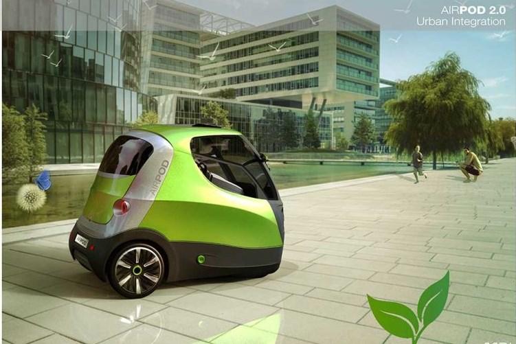 Air Pod 2.0 รถพลังงานลม