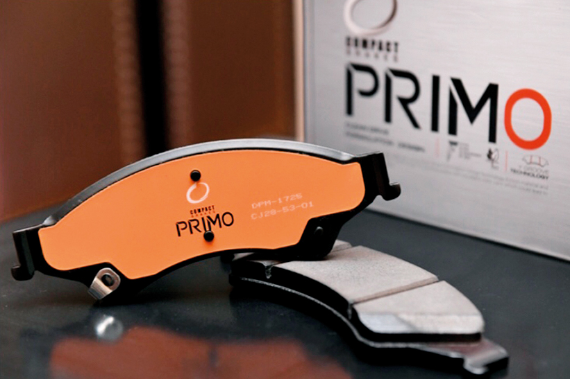 ผ้าเบรค COMPACT รุ่น PRIMO BRAKE