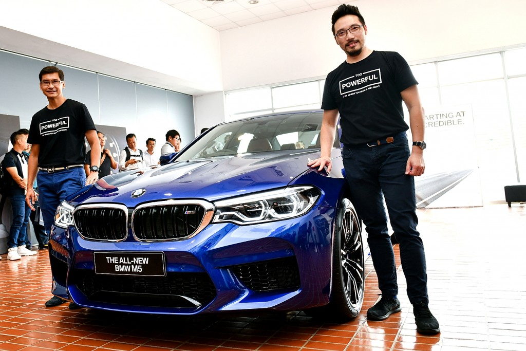 Exclusive Preview of the All-New BMW M5 (1)