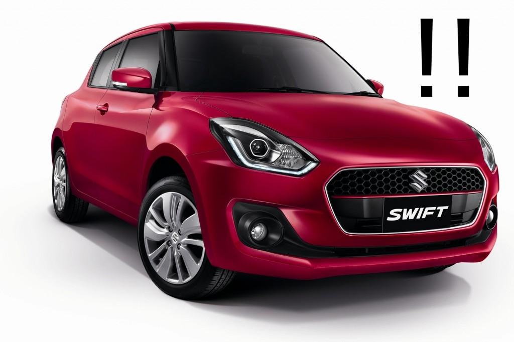 Suzuki Swift มาใหม่ แต่แรงม้าหายไปไหน !?
