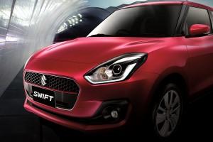 หน้าตาเปรี้ยวขึ้น ! Suzuki Swift รุ่นใหม่ (ราคา 499,000-629,000 บาท)