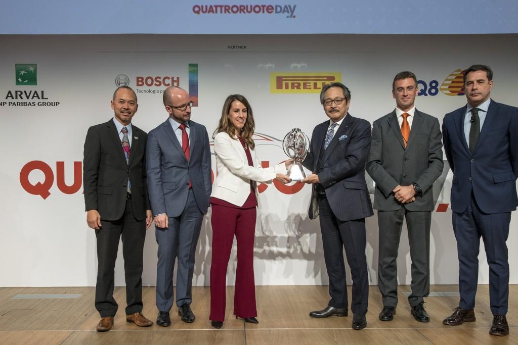 3 รางวัลทรงเกียรติจาก Quattroruote นิตยสารยานยนต์ระดับหัวแถวของอิตาลี !