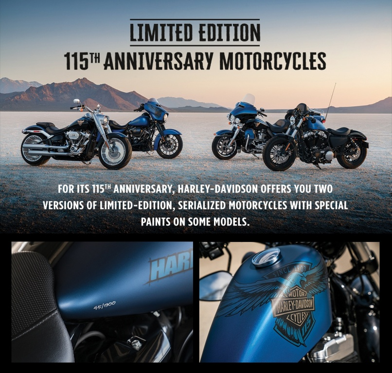 115th-anniversary-special-edition-motorcycles-2017-09-01-Vision-Harley-Davidson-Repentigny-Mascouche-Joliette-Lanaudiere-Quebec-Canada