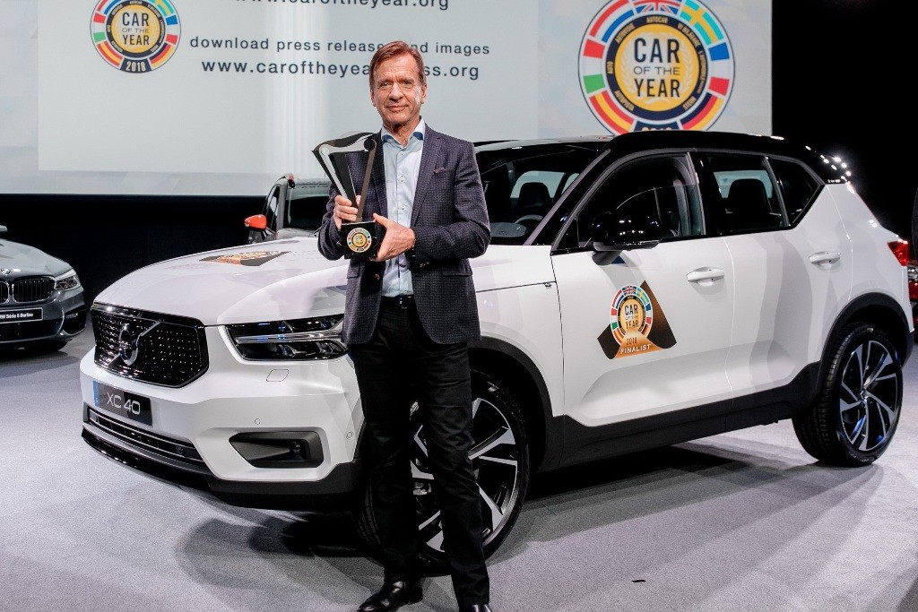 226138_Volvo Car Group President & CEO H†kan Samuelsson at the European Car of the