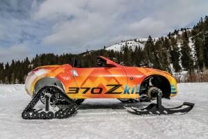 NISSAN 370ZKI ลุยหิมะด้วยรถสปอร์ทเปิดประทุนได้แล้วจ้า !