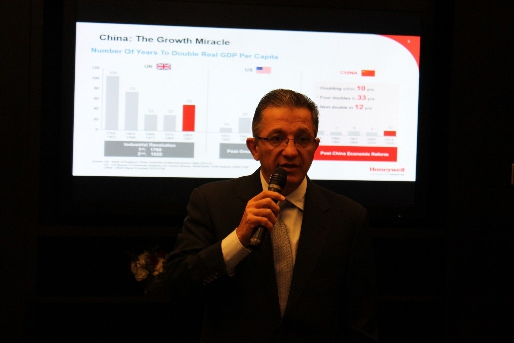 Mr Shane Tedjarati, President, Honeywell Global High Growth Regions
