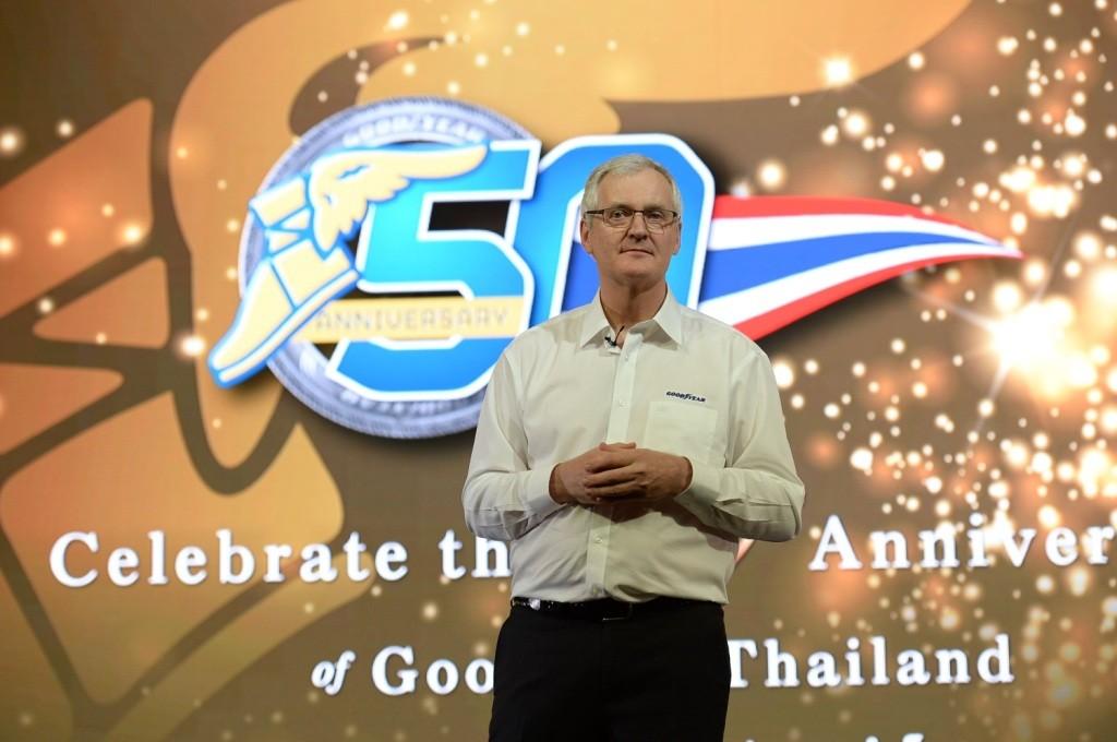 Mr. Finbarr O'Connor, Managing Director of Goodyear Thailand (1)