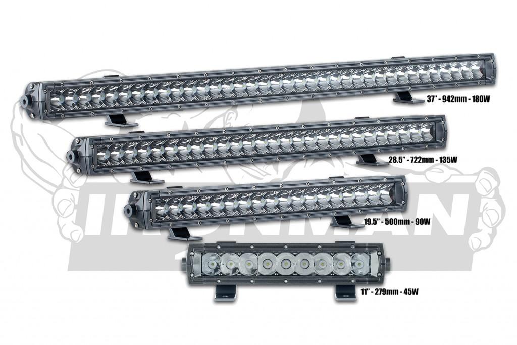 ไฟแอลอีดี IRONMAN 4×4 รุ่น LED LIGHT BARS