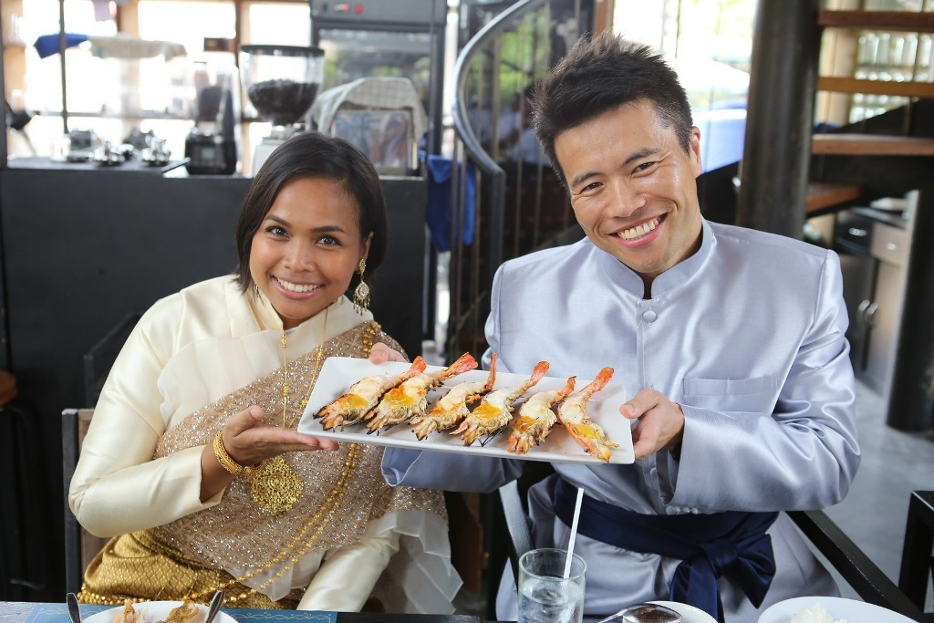 04. รับประทานอาหารกลางวัน ณ  The Wine Ayutthaya