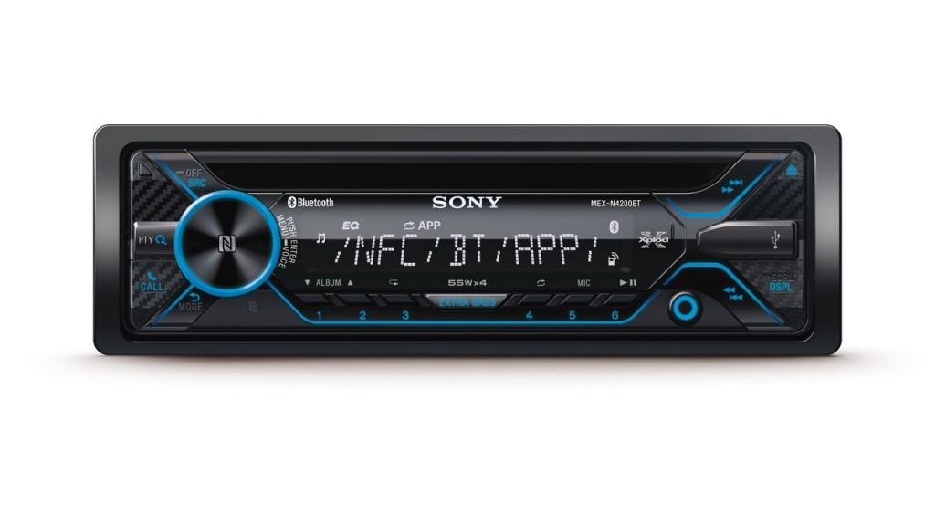 Sony MEX-N4200BT เชื่อมต่อสมาร์ทโฟนได้ 2 เครื่อง