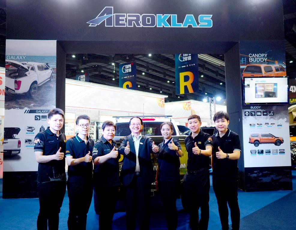 EPG ส่ง Aeroklas และ TJM ร่วมออกบูธโชว์สินค้า