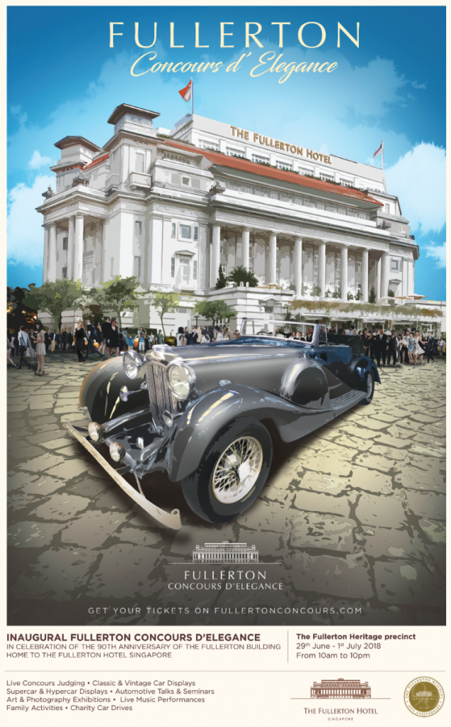 Fullerton Concours d'Elegance - Key visual