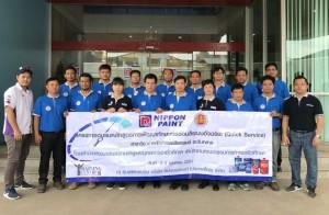 นิปปอนเพนต์ (ประเทศไทย)ฯ ต้อนรับบุคลากรอาชีวศึกษา
