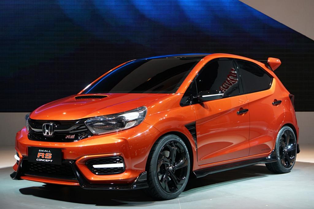 Honda เผยโฉม Small RS รถต้นแบบมาดสปอร์ทในสไตล์แฮทช์แบค ในงาน Indonesia International Motor Show 2018 (IIMS 2018)