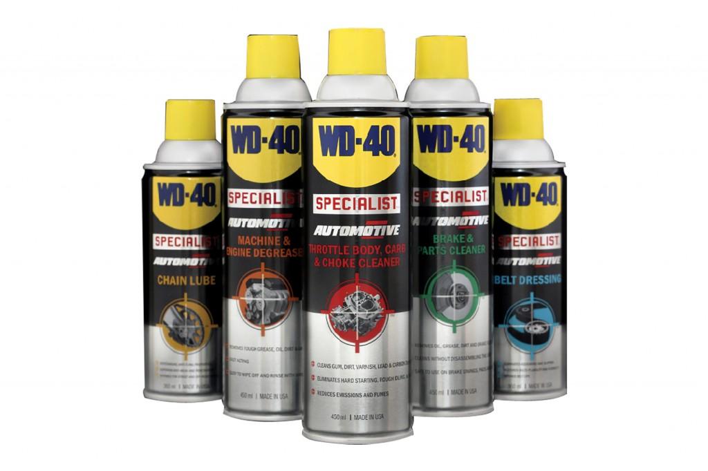 สเปรย์ทำความสะอาด WD-40