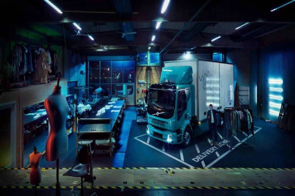 Volvo เผยโฉมรถบรรทุกไฟฟ้า