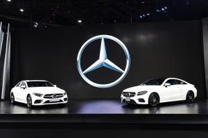 เมร์เซเดส-เบนซ์ เปิดตัวรถใหม่ 4 รุ่น