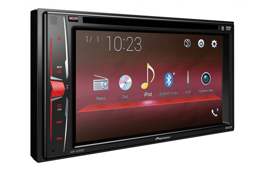 FRONTEND PIONEER  รุ่น AVH-A205BT