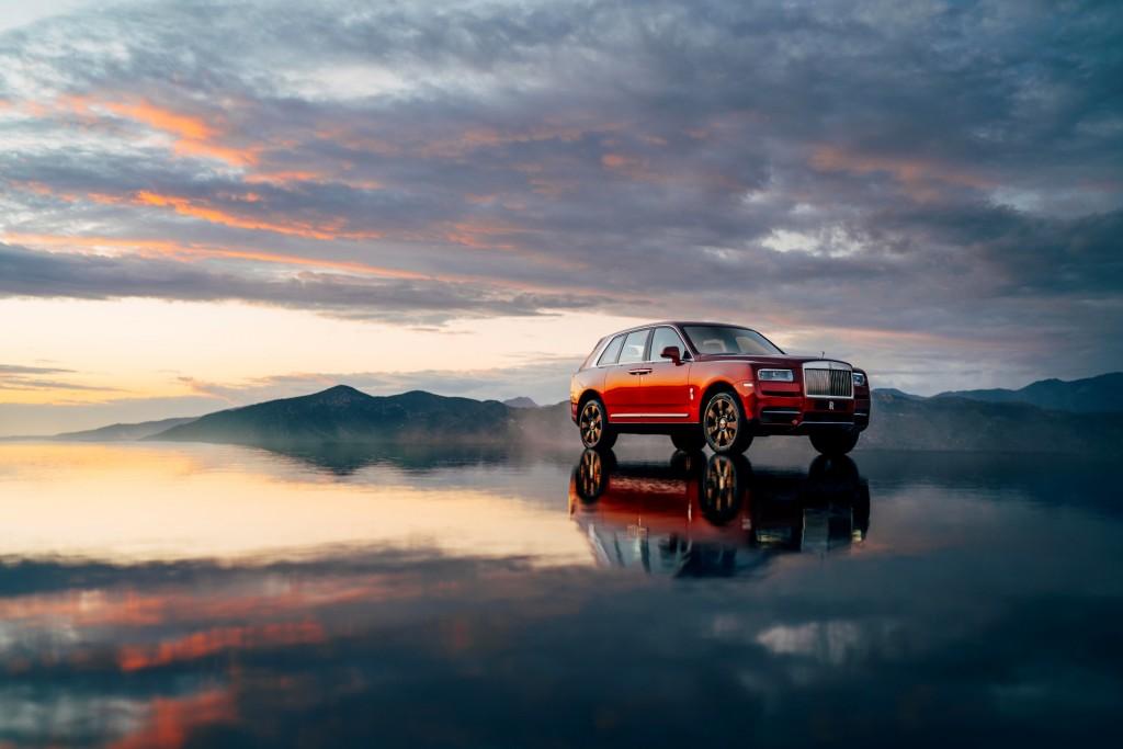 Cullinan เอสยูวีรุ่นแรก จาก Rolls-Royce