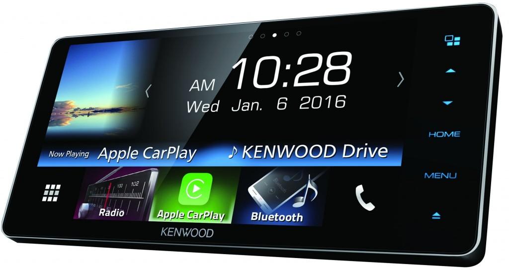 Kenwood DDX916WS รองรับการเชื่อมต่อ iOS, Android