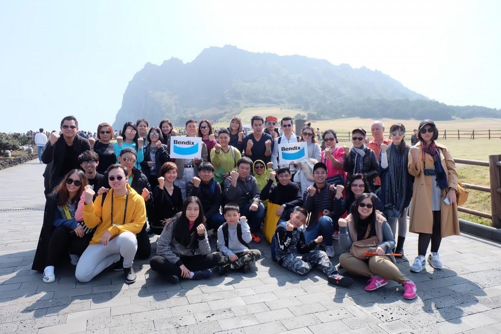 เบนดิกซ์ ขอบคุณตัวแทนจำหน่าย พาท่องเที่ยวเกาะเจจู-ปูซาน