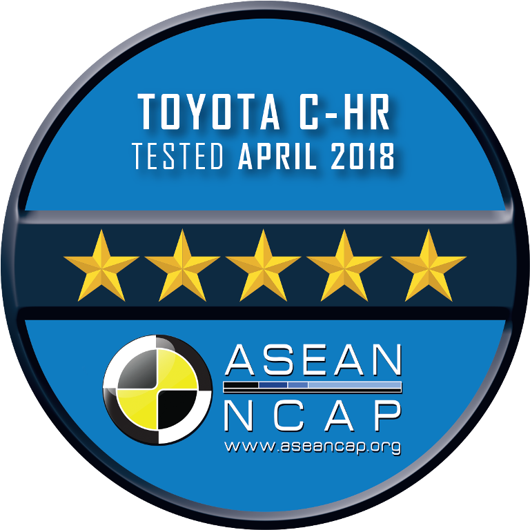 Toyota C-HR rating Plate